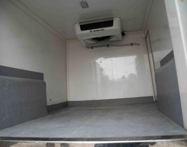 Interior de la furgoneta de 3m3 Fiat Dobló