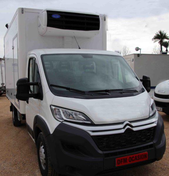 Citröen Jumper de ocasión de DFM, furgón paquetero con frío de 3.500kg a la venta vehículo de ocasión.