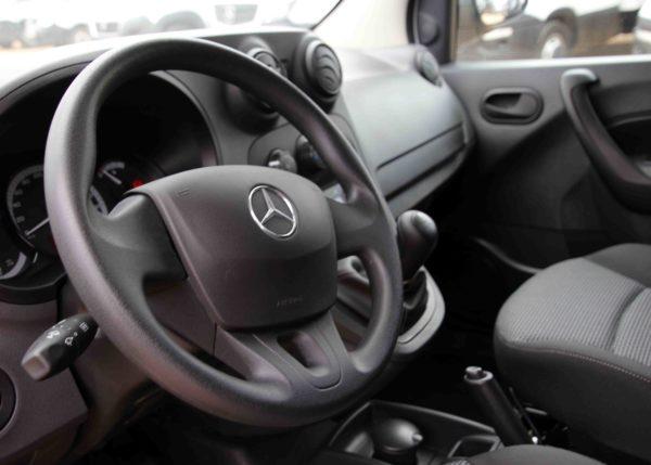 Interior de la furgoneta Mercedes Citan