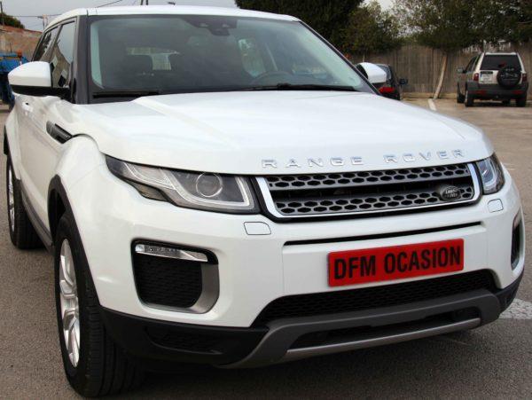 Turismo premium Range Rover Evoque blanco de ocasión de DFM